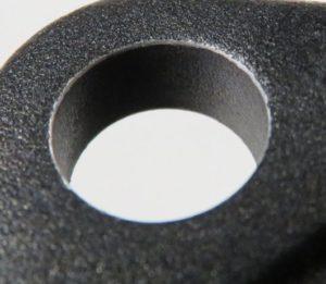 Aufnahmebohrung mit Fase