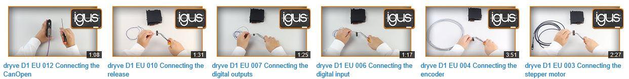 Einfache kurze Erklärvideos helfen bei der Inbetriebnahme
