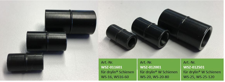 drylin® W Schienenverbinder