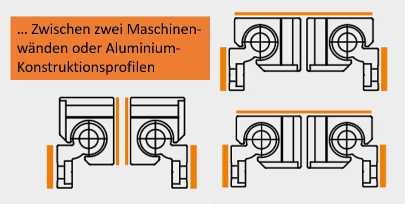 Zwischen Maschinenwänden und Alu-Konstruktionsprofilen