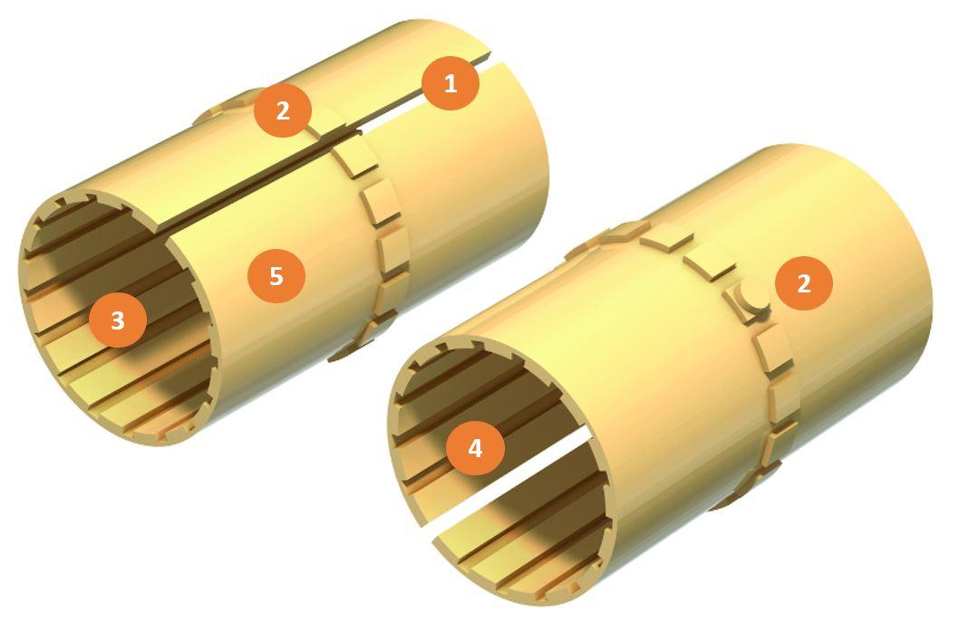 die drylin® Lineargleitfolie im Detail