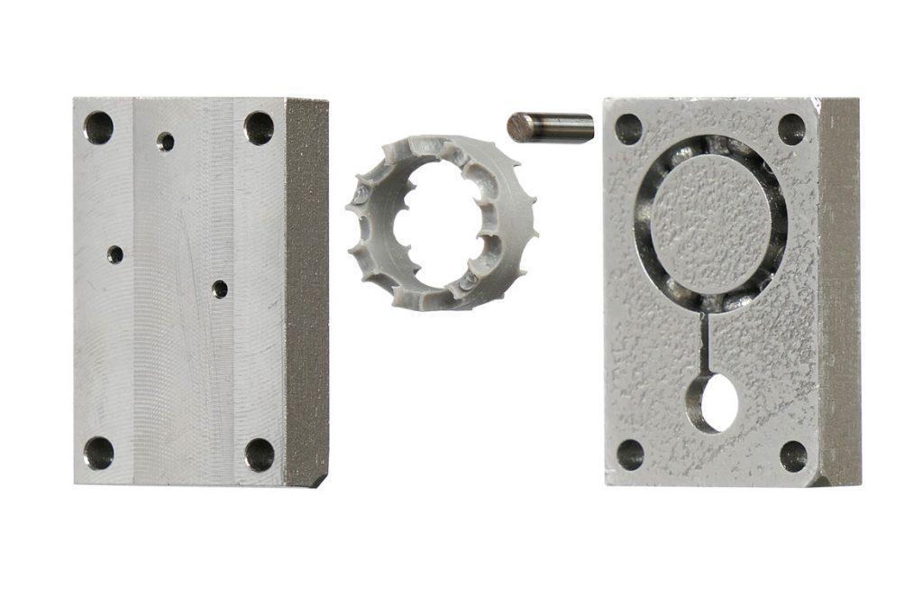 Spritzgusswerkzeug aus dem 3D-Drucker im print2mold Verfahren