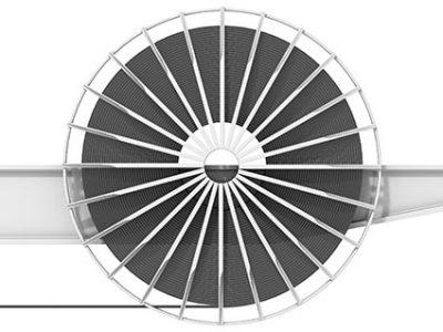 Motorleitungstrommel