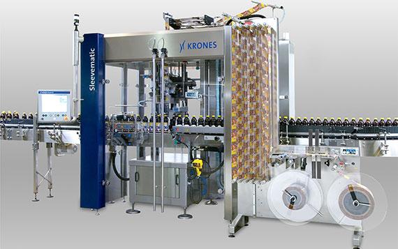 Kunststoff Kugellager werden in einer Etikettiermaschine eingesetzt