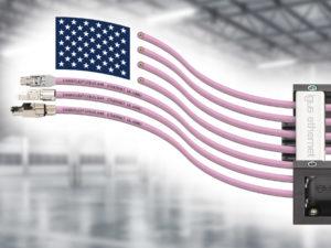 Neue Ethernet- Leitungen für den amerikanischen Markt