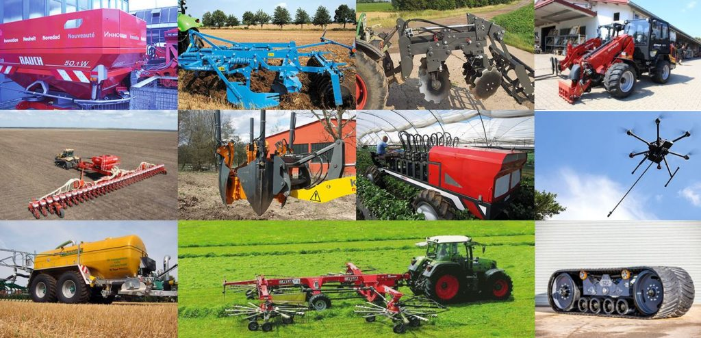 Multifaceted applications in plain bearings for agricultural machinery