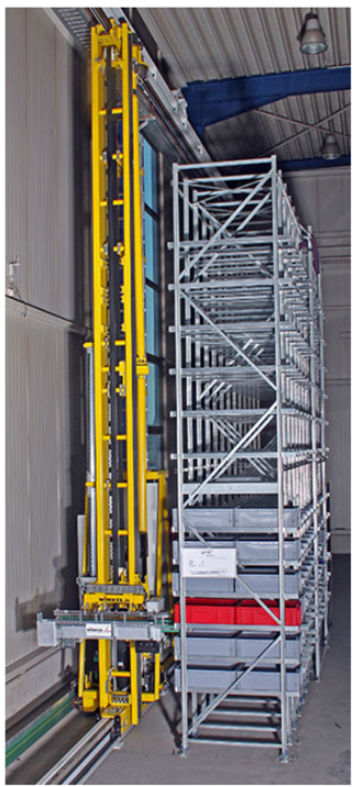 Storage and retrieval unit maximum tensile strain