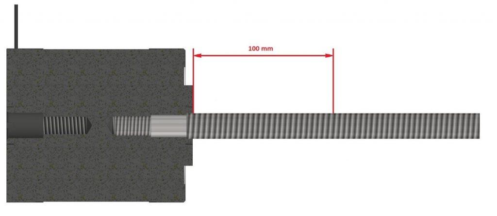 Adjust spindle straightness