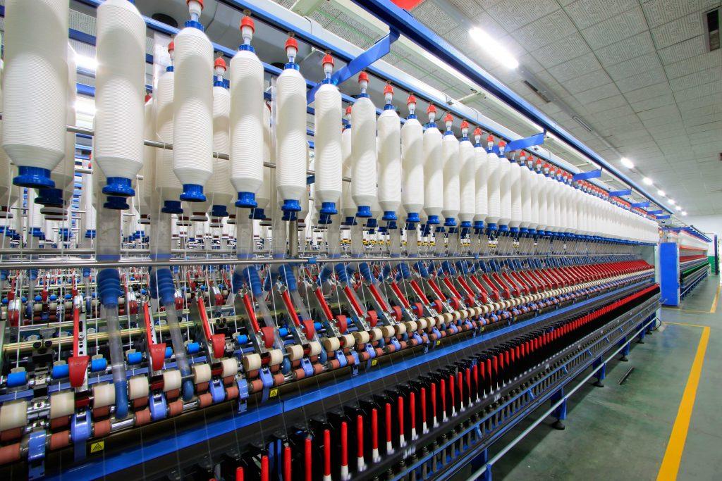 Kugellager in der Textilindustrie