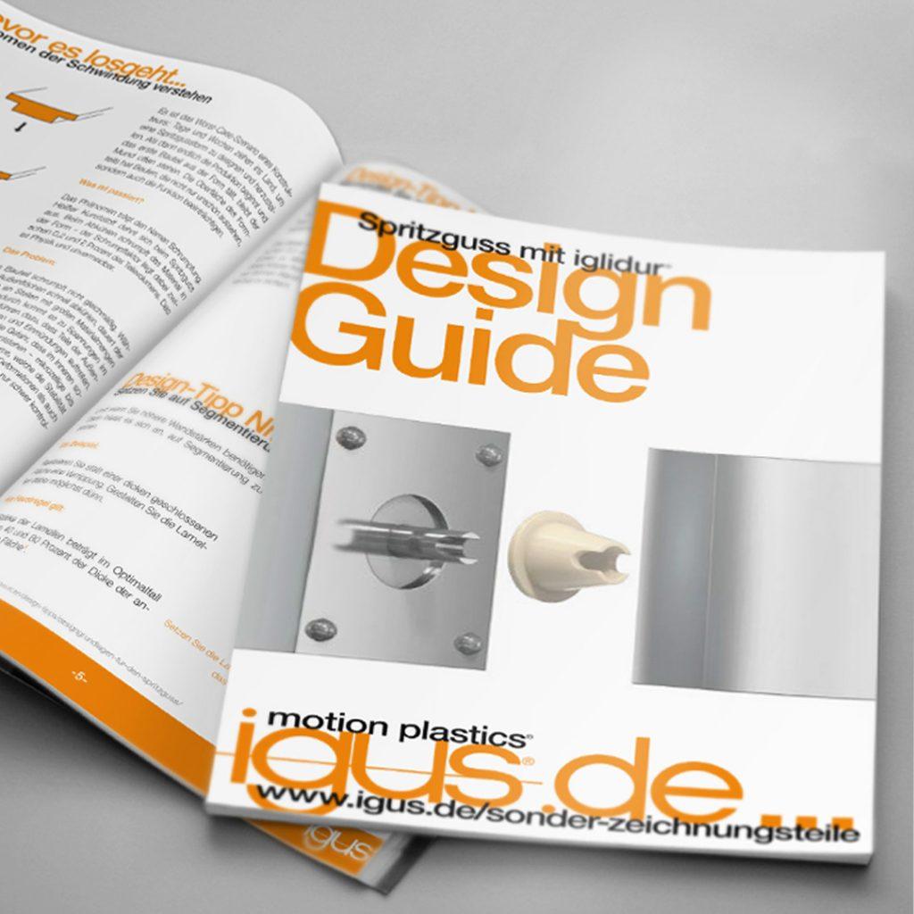 Spritzguss Design Guide von igus