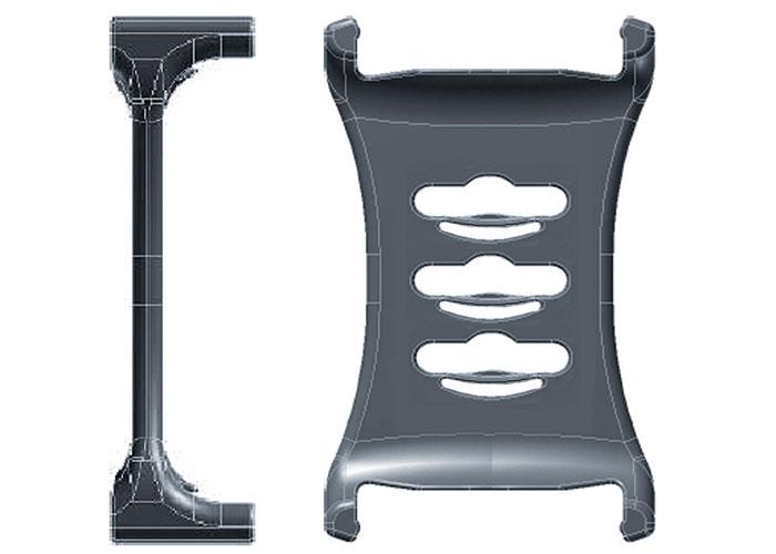 Asymmetrical divider