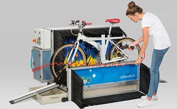 Fahrradwaschanlage