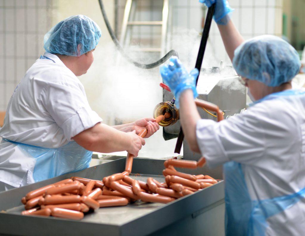Kugellager in der fleischverarbeitenden Industrie
