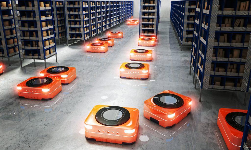Roboter für Lagersysteme