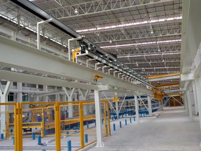 Energiekettenprojekt in einer Betonverteileranlage