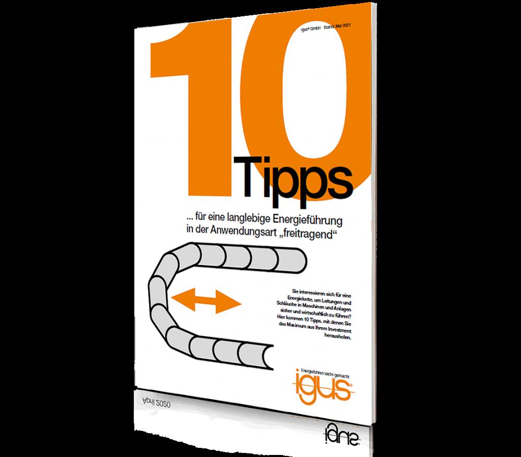 10 Tipps freitragende Energieführung
