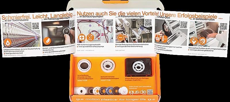 Kugellager-Musterbox